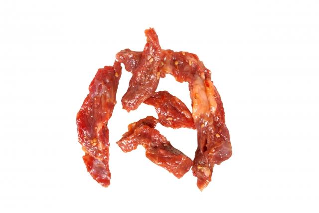 肉で書いた肉文字